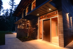 shaw island contemporary front door