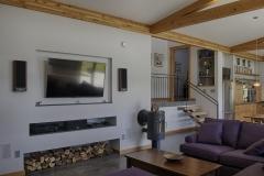 custer contemporary net zero fireplace