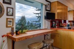 south hill contemporary interior bar top
