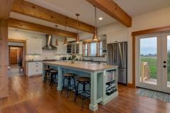 blanchard timber farmhouse custom island