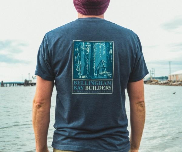 bellingham bay builders V3 T-Shirt Back