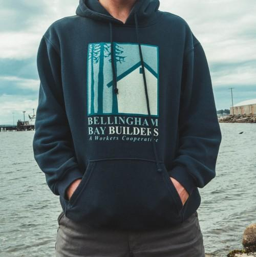 bellingham bay builders V2 Pullover Hoodie Front